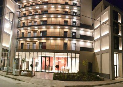 Κατασκευή νέου πολυώροφου κτιρίου ξενοδοχείου στον Πειραιά
